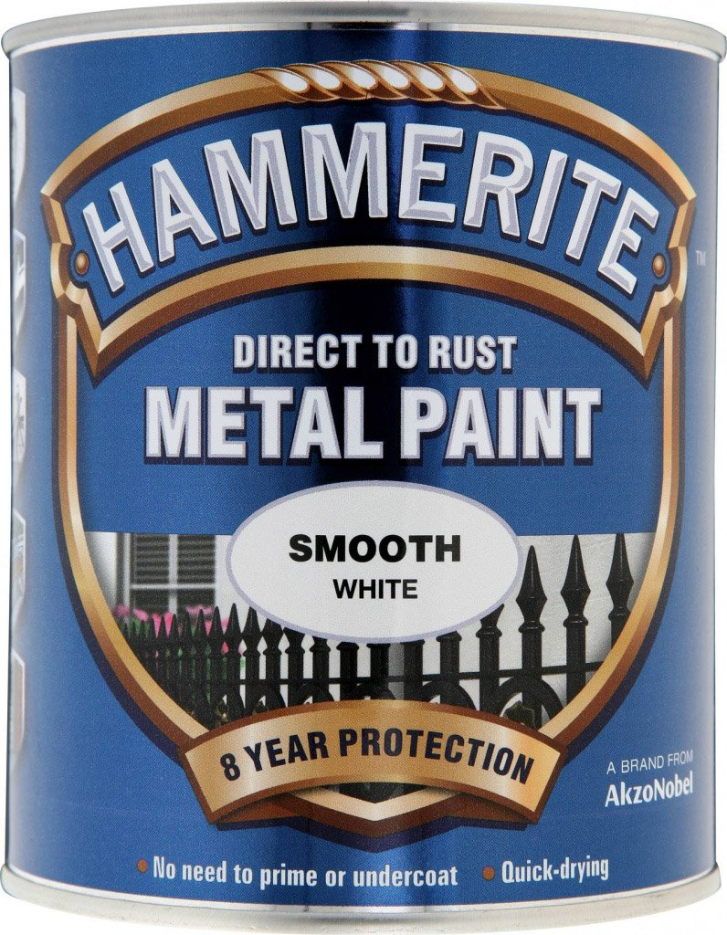 Hammerite Metal Paint Smooth 750ml White ASINOAUK30K