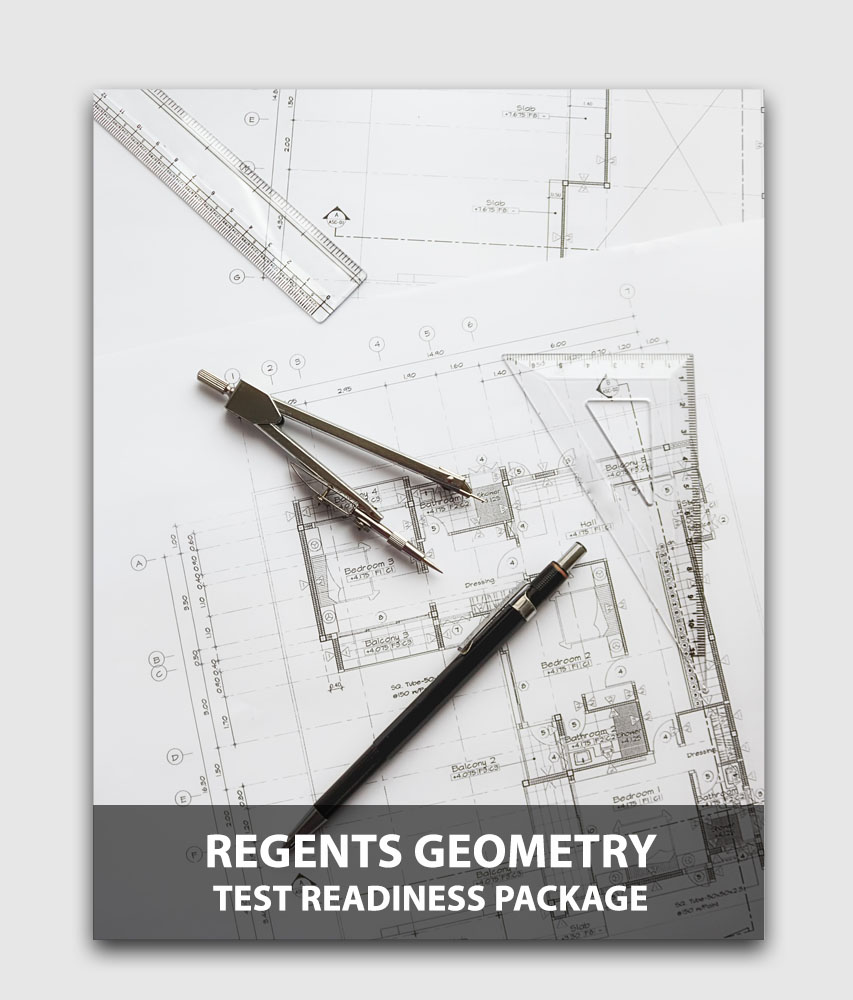 Regents Geometry (Sanity Check) - Test readiness package (Online test) [Online Code]