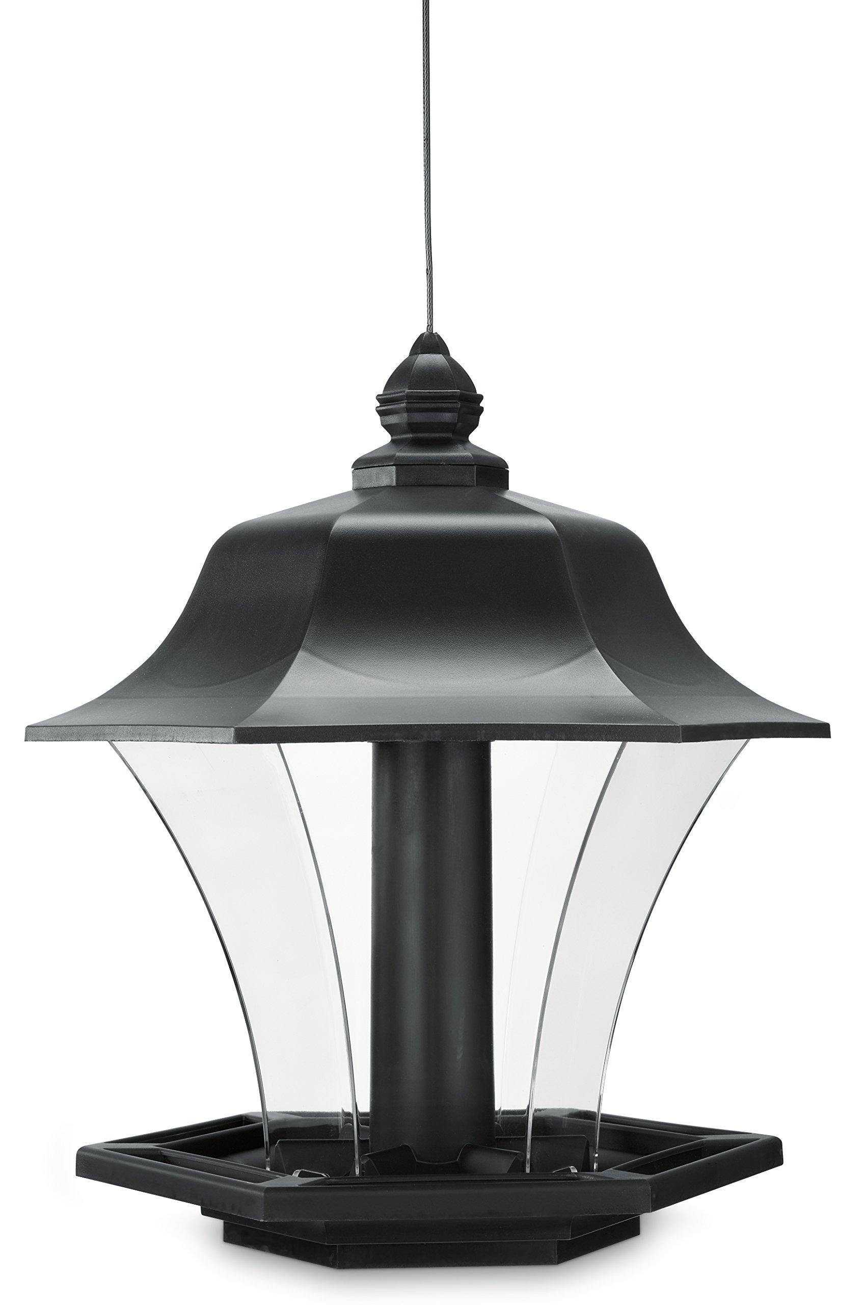Pennington Garden Coach Light Lantern Style Bird Feeder Made in the USA, Plastic