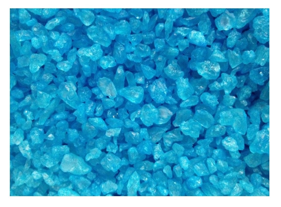 Amazon.com : Blue Raspberry Rock Candy Crystals (1 Pound Bag ...