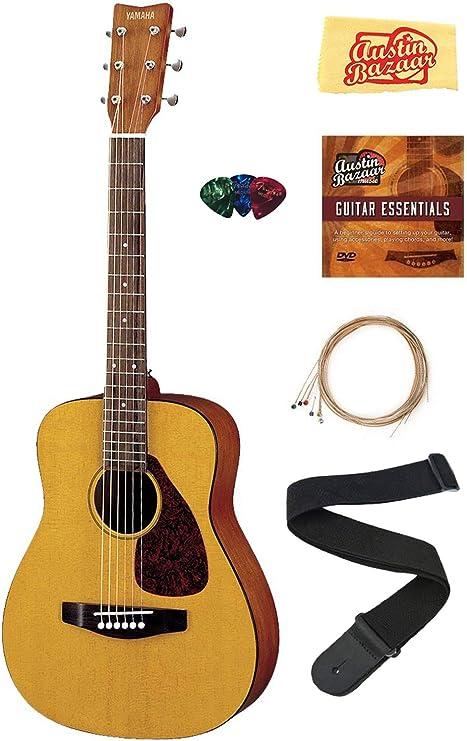 Yamaha JR1 – 1/2-scale Mini paquete de guitarra acústica con ...