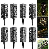 Lamparas de Jardin, Lámpara Solar Luz ambient, Ideal
