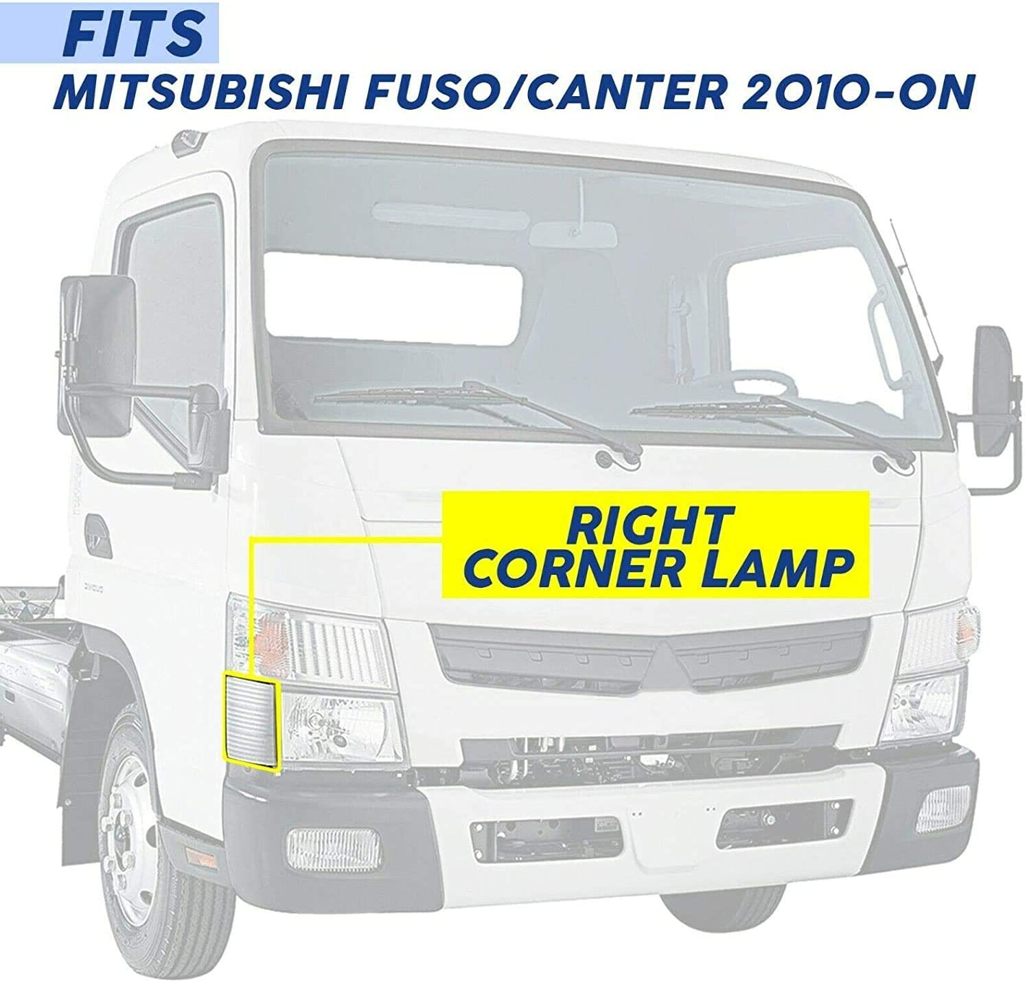 MITSUBISHI FUSO CANTER CORNER LAMP LEFT 2004-2007