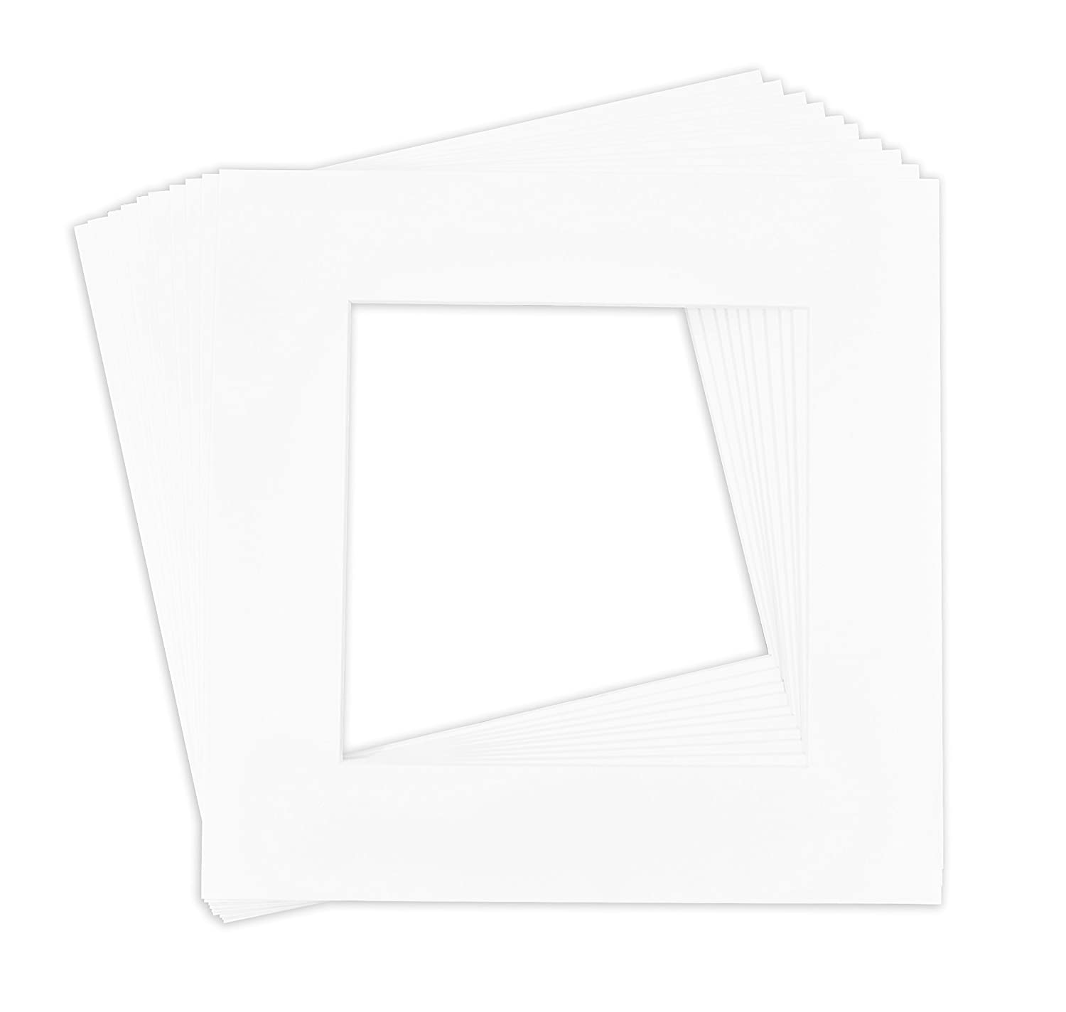 Golden State Art, Pack of 10, 12x12 Picture Mat Matte Backerboards ...