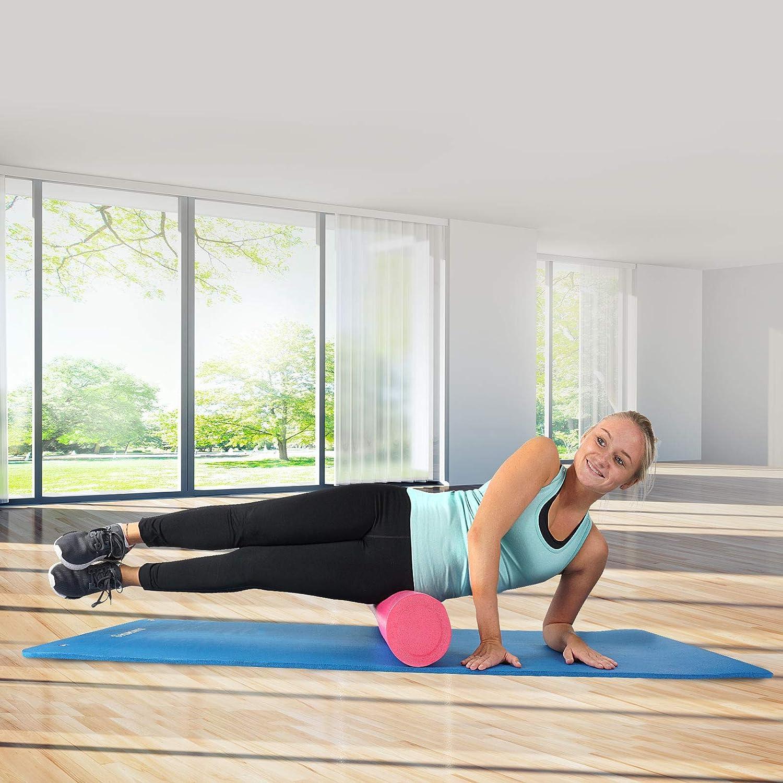 gr/ün extra gro/ß und dick Yoga-Matte mit Schultergurt blau ScSPORTS Gymnastikmatte rot schwarz 190 cm x 80 cm x 1,5 cm