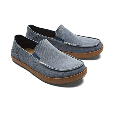 OLUKAI Men's Puhalu Canvas Loafer | Loafers & Slip-Ons
