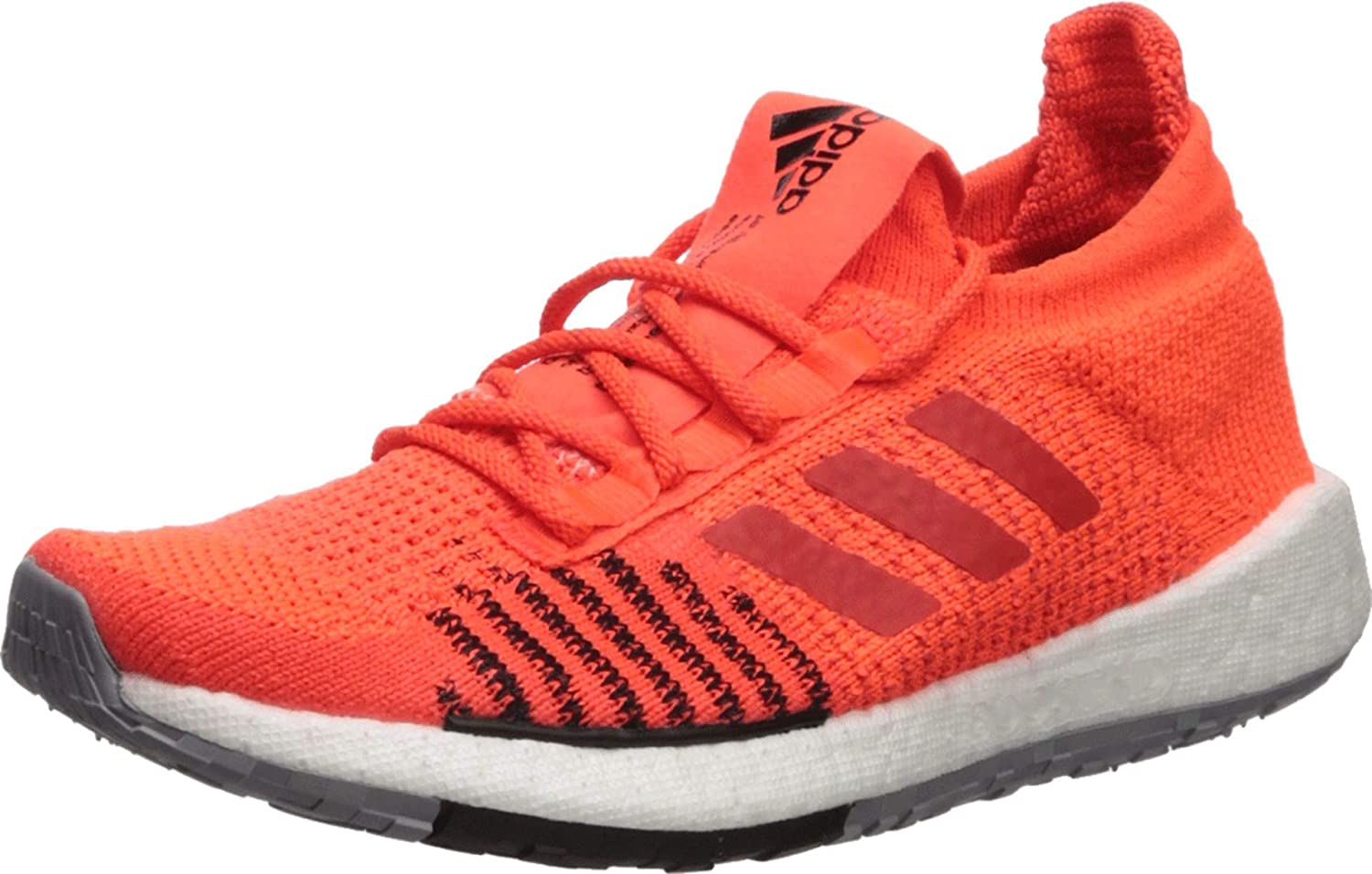 más Corresponsal Sabroso  Amazon.com | adidas Running PulseBOOST HD Solar Red/Hi-Res Red/Core Black  8.5 D (M) | Tennis & Racquet Sports