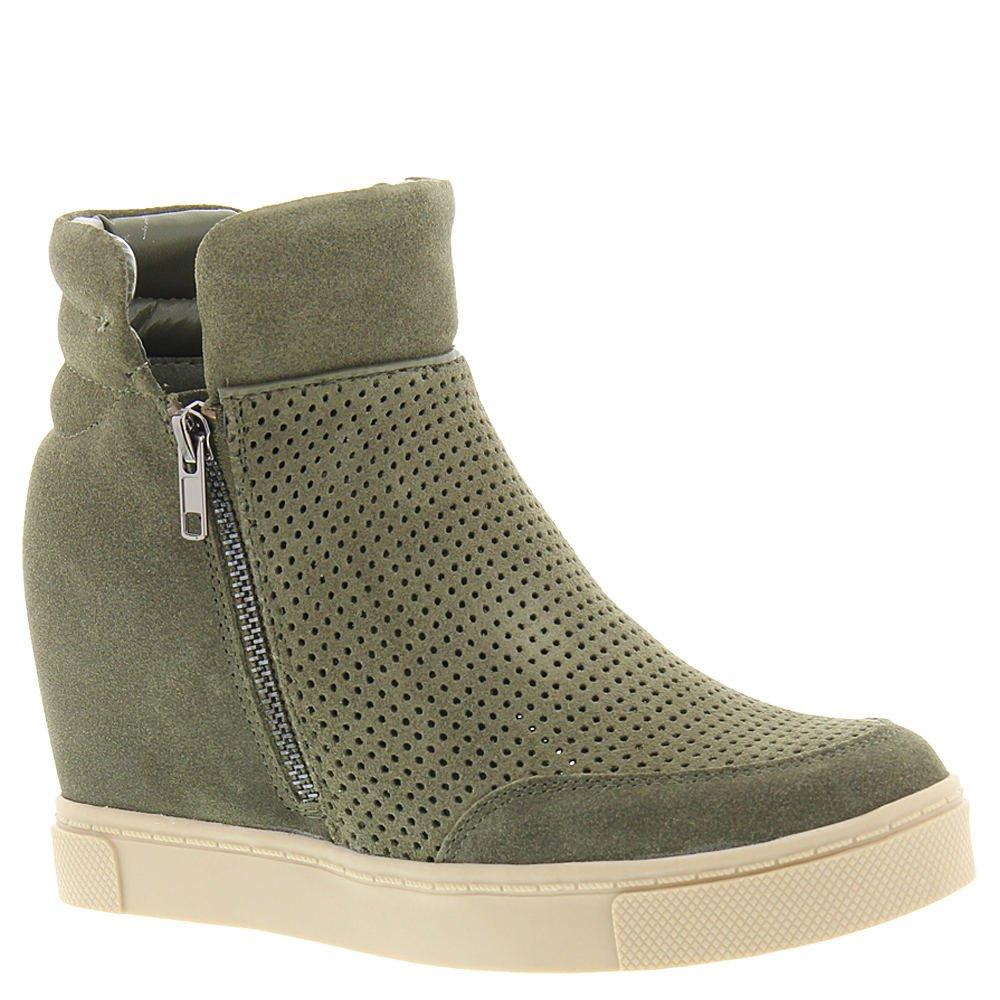 cb037ef3fb4b Steve Madden Women s Linqsp High-Top Green Size  11 B(M) US  Amazon.co.uk   Shoes   Bags