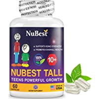 NuBest Tall 10+ - Advanced Growth Formula - Powerful Bone Strength Support - for Children (10+) & Teens Who Drink Milk…