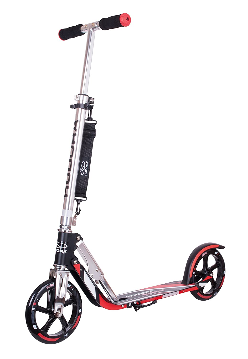 Hudora Big Wheel 205 - scooters (Kids/Adults, Asphalt, Azul, Verde) 14750/01