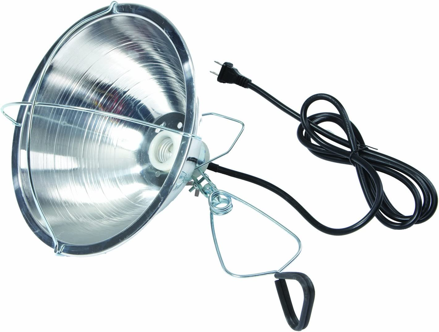 REFLECTIVE BROODER HEAT LAMP FOR YOUR CHICKS INCLUDES 250 WATT RED BULB!