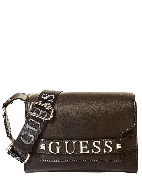Guess FELIX SHOULDER BAG HWVG6876210-BLA BLACK  Amazon.it  Abbigliamento 263e571570b