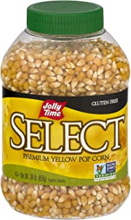 product image for Jolly Time Gluten Free Premium Yellow Pop Corn (2 Pack) 30 oz Jars, Non GMO