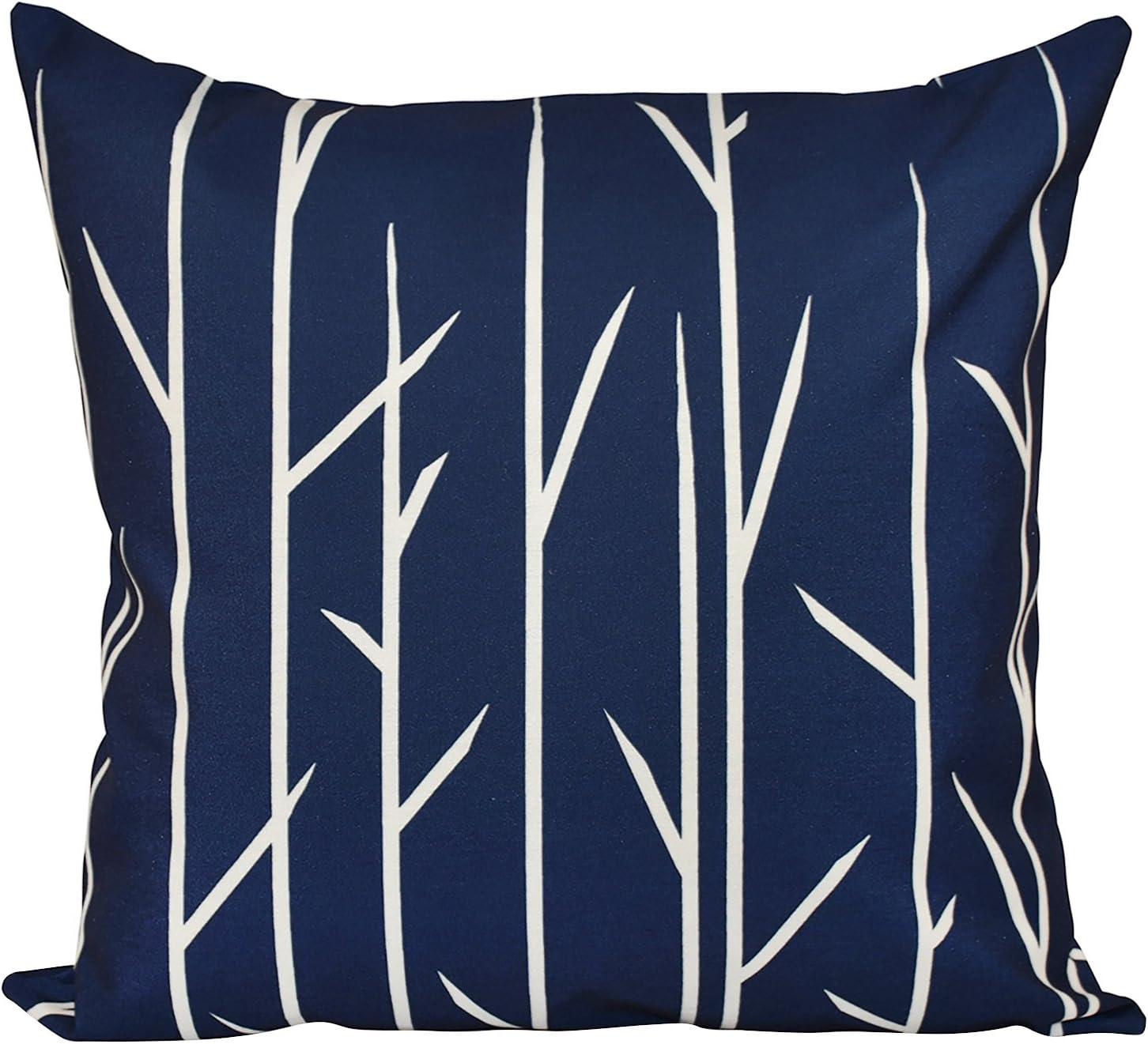 E by design Decorative Pillow Grey Blue