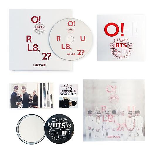 BTS 1st Mini Album - CD + Photobook + Photocard + Folded Poster + ...