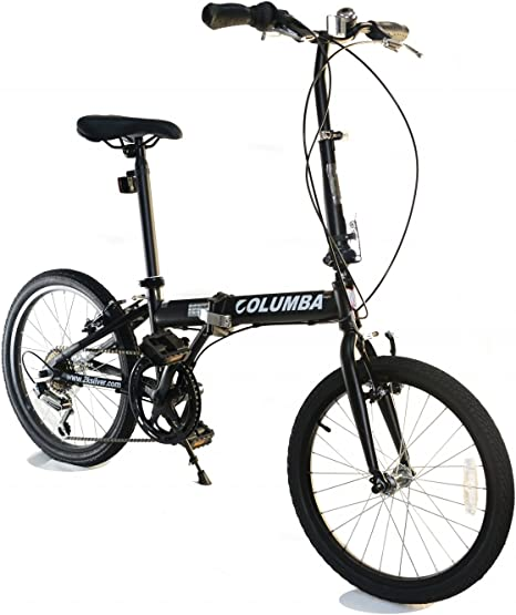 Columba - Bicicleta Plegable compacta de 50,8 cm (PR20S), 50,80 cm ...