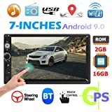 MKChung 7 inch 2 Din Android 9.0 Quad Core Car
