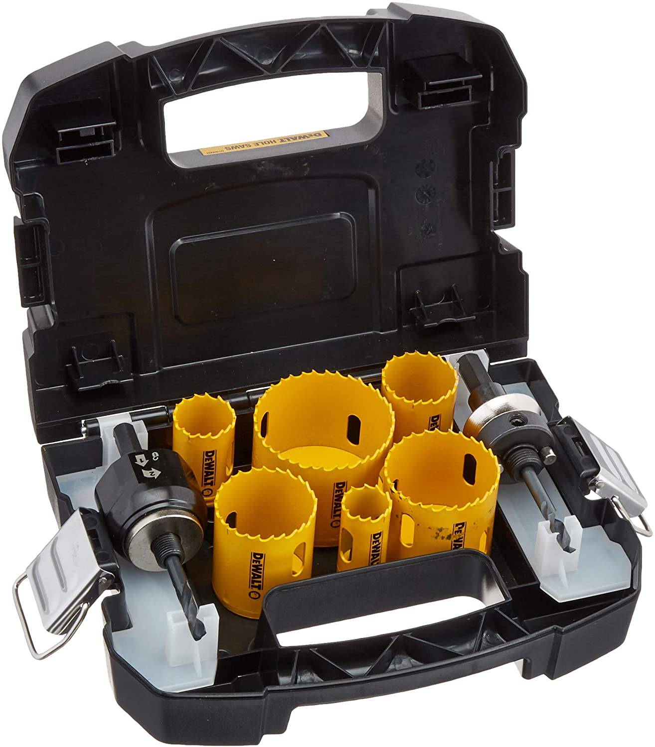 6. Dewalt D180002 Hole Saw Kit