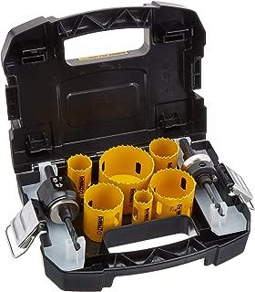 product image for DEWALT Hole Saw Kit, Standard Electrician's Set, Bi-Metal (D180002)