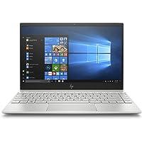 HP Envy 13-ah0001ne Laptop, Intel Core i7-8550U, 13 Inch, 512GB SSD, 16GB RAM, Intel UHD Graphics, Win 10, Eng-Ara KB, Silver