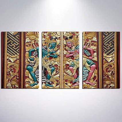 Amazon.com: 3 Panel Canvas Prints Wall Art for Home Decoration ...