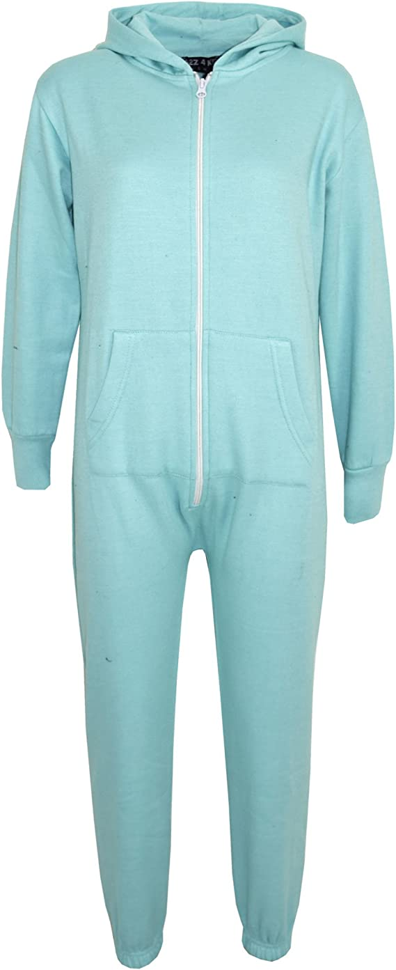 Boys Girls Kids Onesie Size Age 2 3 4 5 6 7 8 9 10 11 12 13 Years Fleece Animal Jumpsuit Playsuit Character Soft
