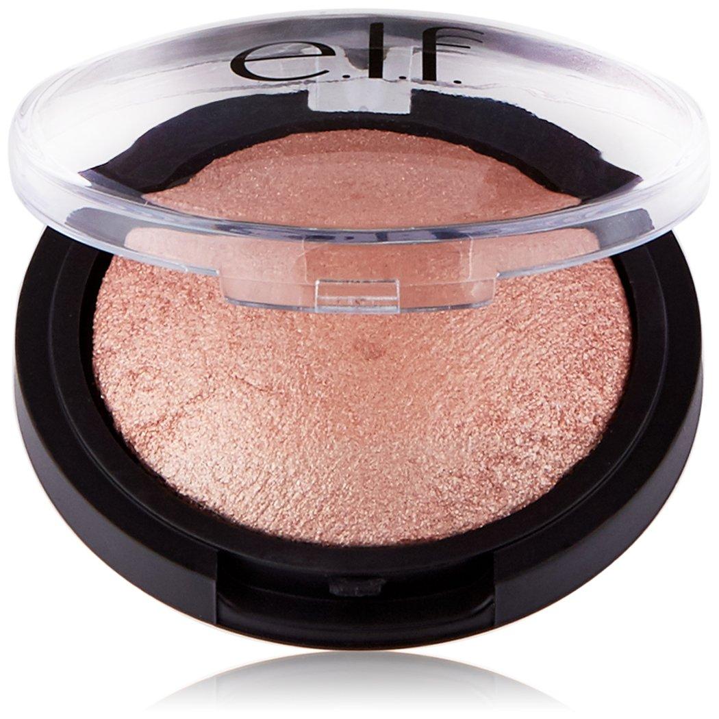 e.l.f. Baked Highlighter, Sheer Shimmering Color, Blush Gems, 0.16 Ounce