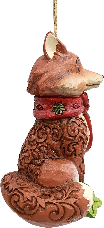 Jim Shore Christmas Stacked Wonderland Animals Cardinal Fox New 2020 6006607