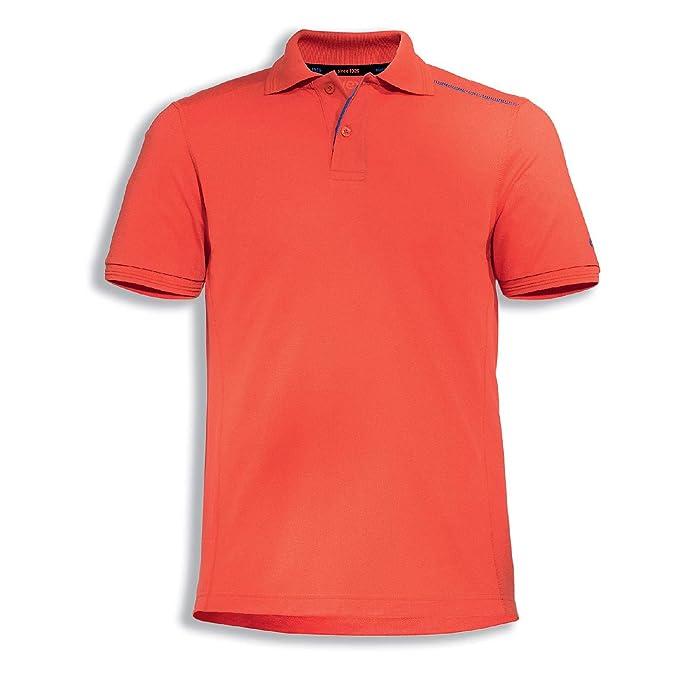 Uvex Suxxeed - Polo de Trabajo para Hombre (Talla 4XL), Color Rojo ...