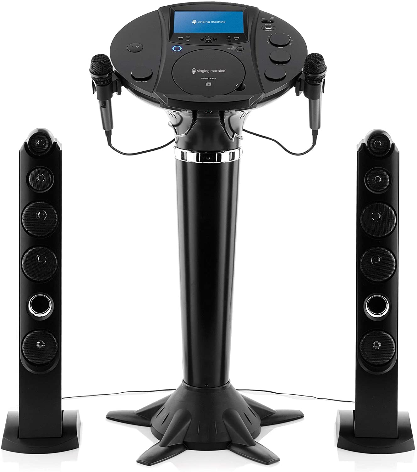 Singing Machine iSM1030BT Bluetooth Karaoke