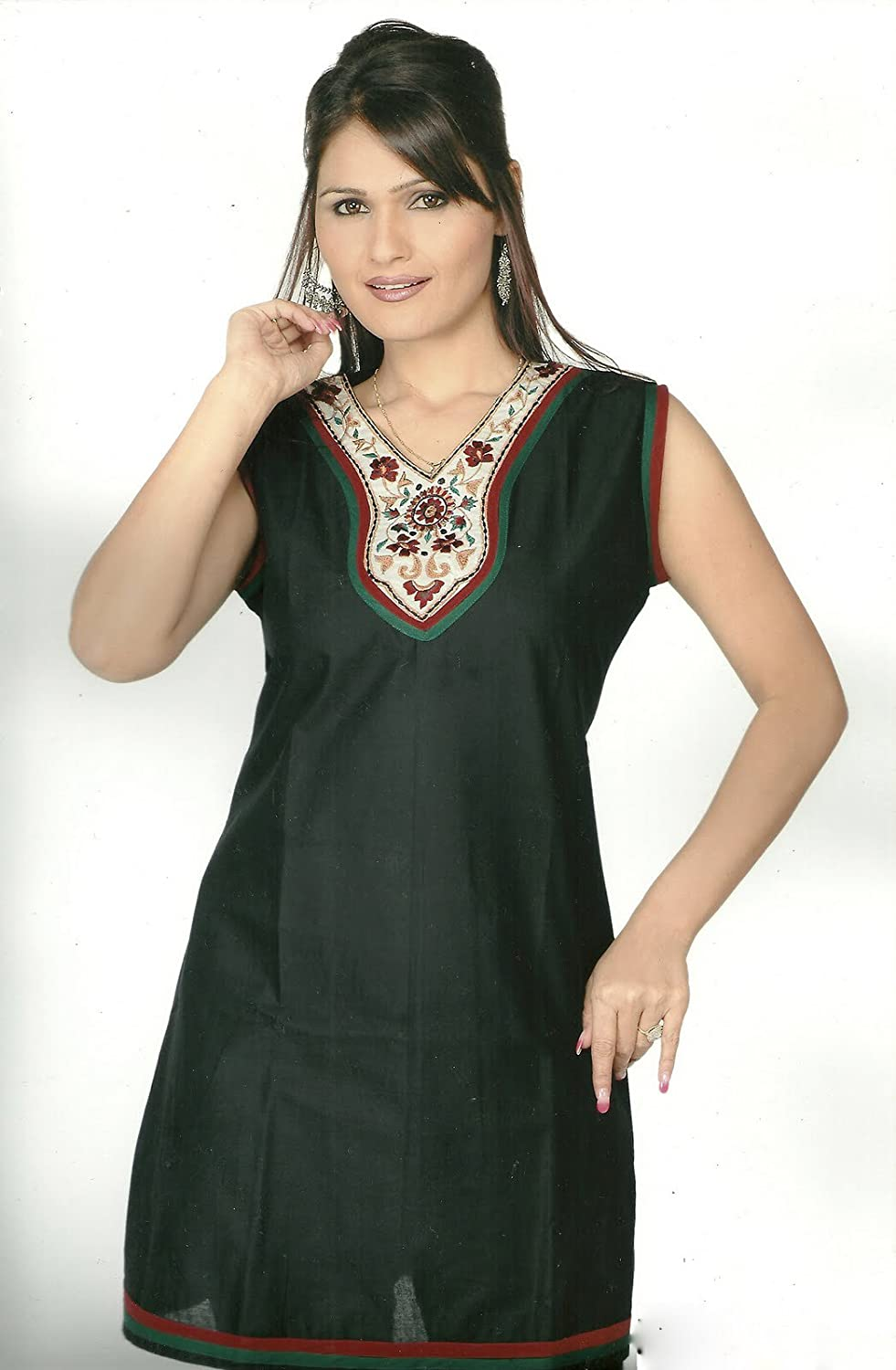 'Gordons Green' Long length ladies Tunic dress