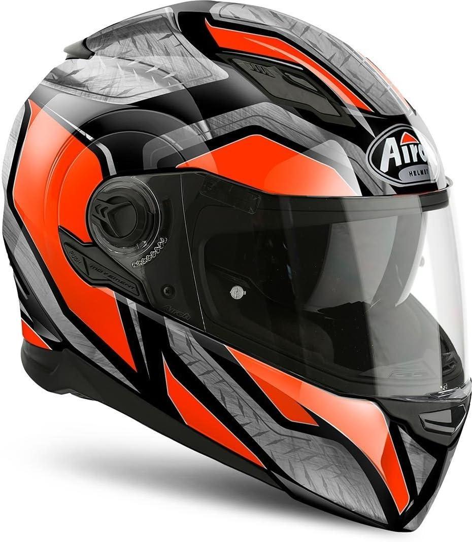 Airoh MVSST32XS Movement S Steel Motorcycle Helmet XS Orange
