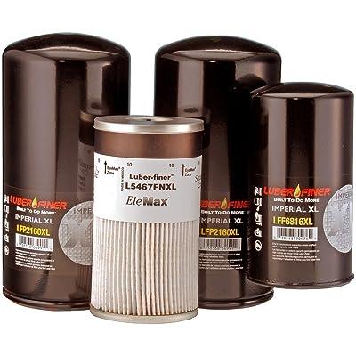 Luber-finer LK343DXL Detroit Diesel Filter Kit: Automotive