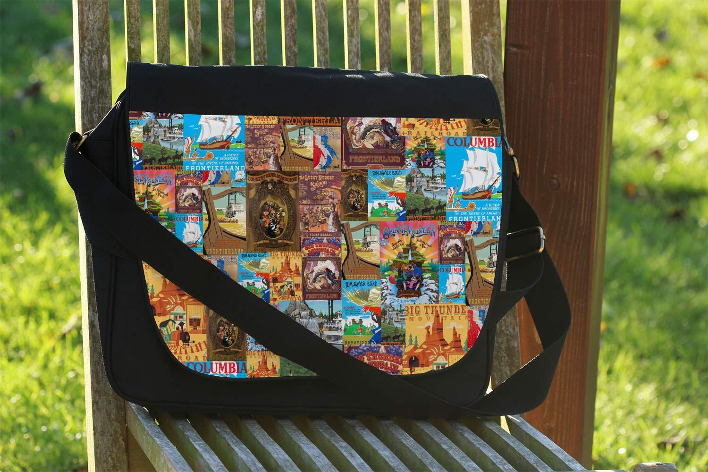 Frontierland Disney Inspired Messenger Bag One Size Messenger Bag