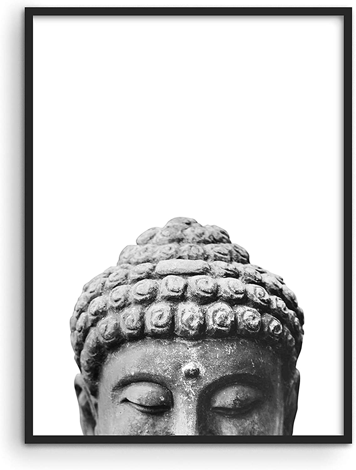 "HAUS AND HUES Buddha Wall Decor and Zen Wall Art Zen Posters Wall Art | Buddha Decor Wall Art | Namaste Wall Art | Buddha Pictures Wall Decor and Meditation Wall Art | (12"" x 16"", UNFRAMED)"