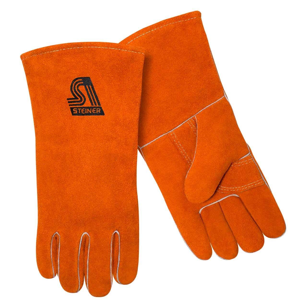 General Duty Leather Welding Gloves - 2119Y by Steiner - - Steiner - 2119Y by Steiner
