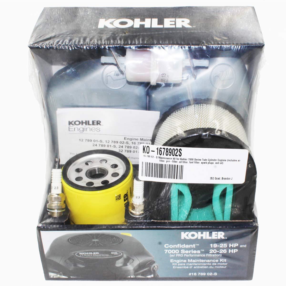 Amazon.com: Kohler OEM parte 16 789 02-S Confidant & 7000 ...