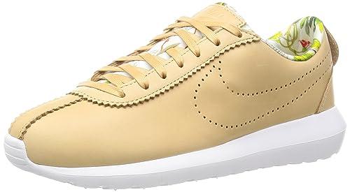 9a0eba9b48bbe NIKE Women s W Roshe Cortez Nm Lib Qs Sneakers Pink Size  4 UK