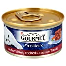 Gourmet Solitaire Premium Fillets with Beef in Tomato Sauce (85g) - Pack of 6