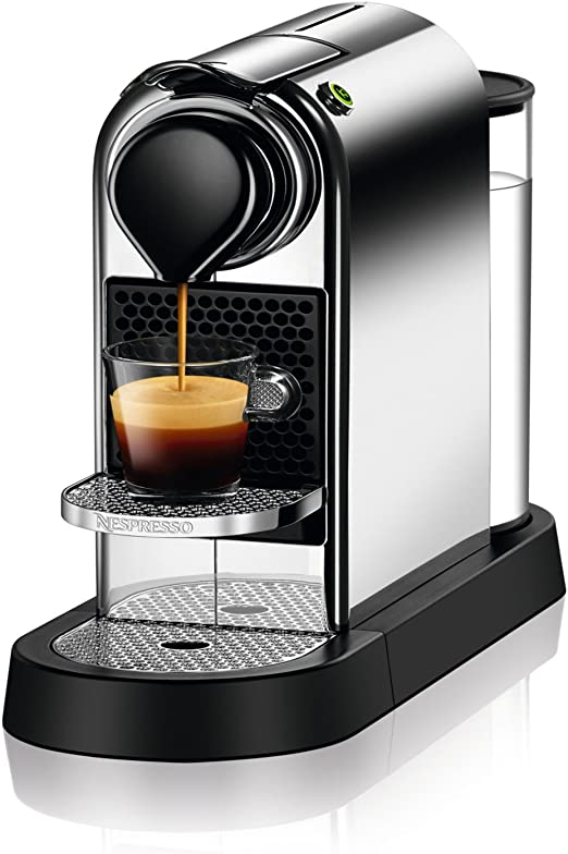 Nespresso C112-US-CH-NE FBA_C112-US-CH-NE Citiz Espresso Machine, Chrome