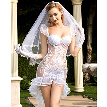 best value price remains stable 2019 clearance sale Amazon.com : Women Bridal Lingerie Virgin First Night ...
