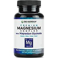 Magnesium Complex | 90 Day Supply | Fresh Magnesium Glycinate Chelated, Vitamin...