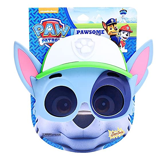 8c1614b889a Amazon.com  Sun-Staches Costume Sunglasses 2018 Rocky Paw Patrol Party  Favors UV400  Toys   Games