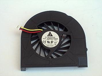 airthd® Nuevo CPU Cooler Ventilador de refrigeración para ordenador portátil HP COMPAQ Presario G50 G60