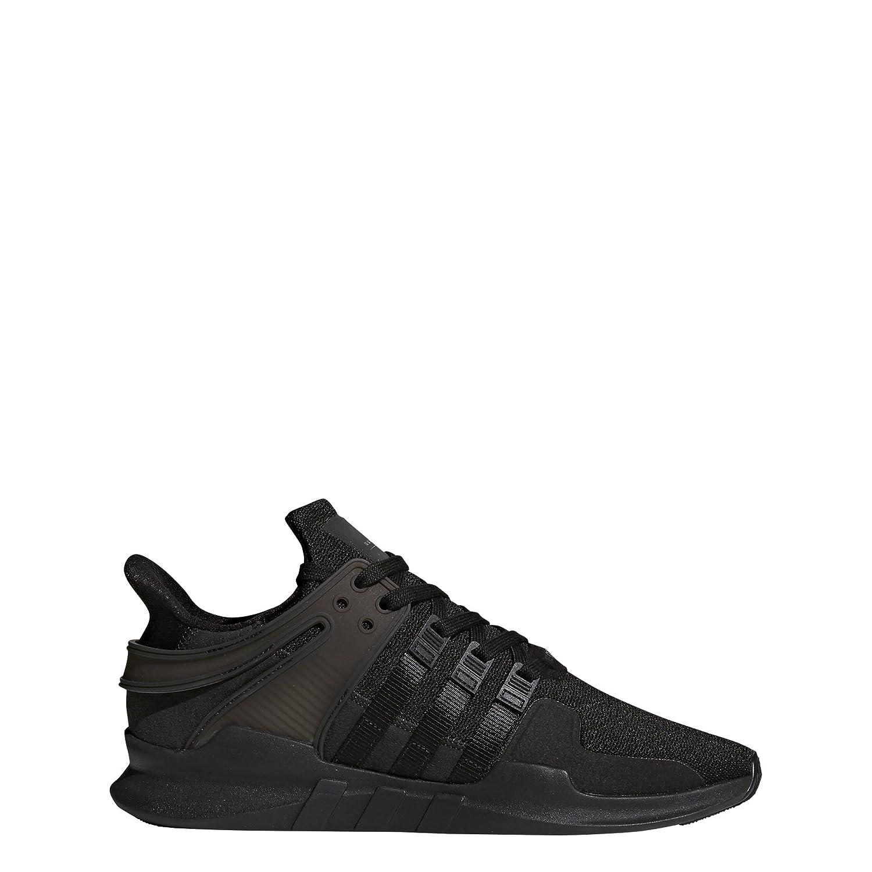 Noir Adidas EquipHommest Support Adv, paniers Basses Femme