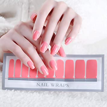 Amazon.com: Color Lab 2019 Spring 22PCS ADHESION Nail Art Transfer ...