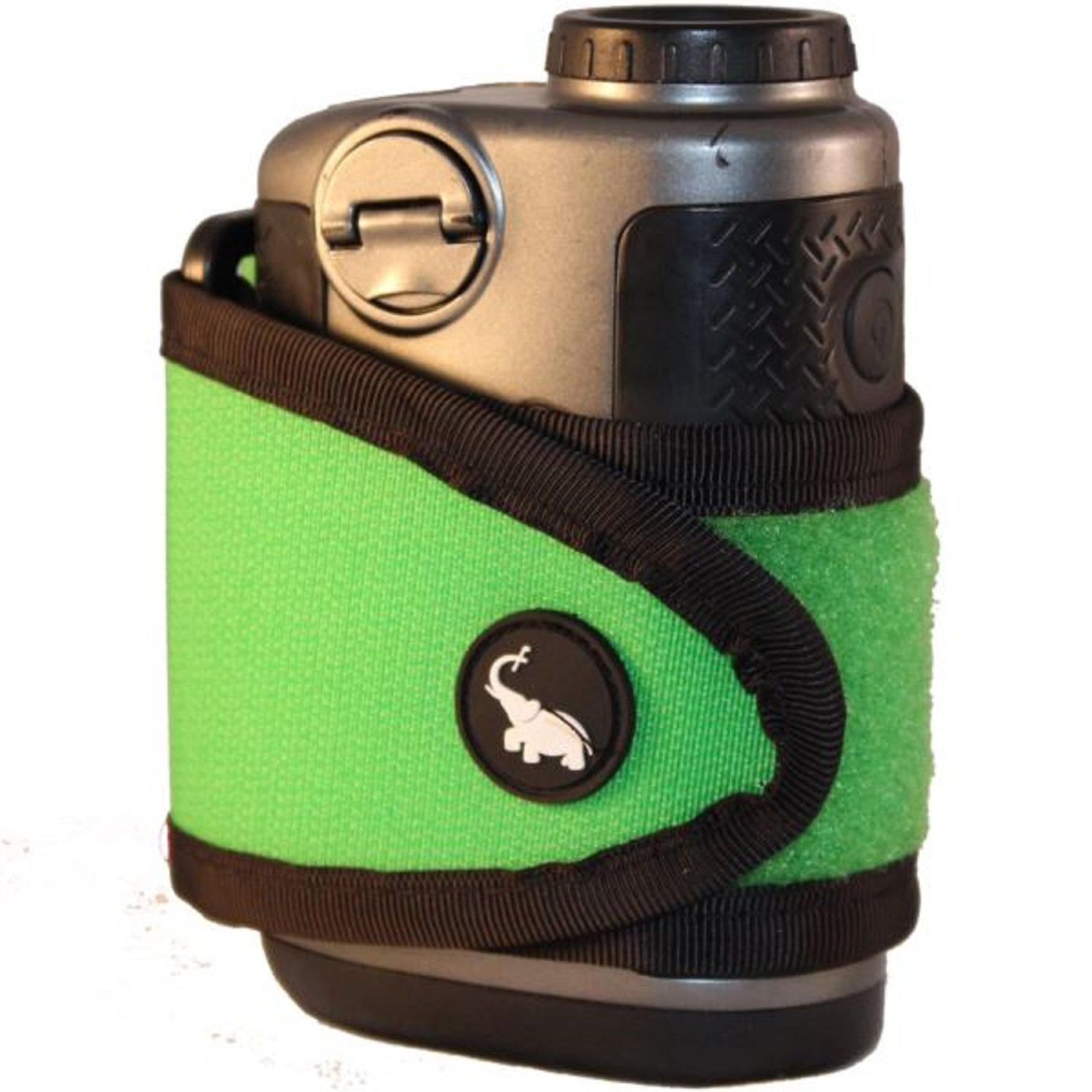 Monument Golf 1003GR Stick It Classic Series Magnetic Rangefinder Strap, Green by Monument Golf