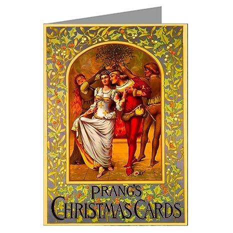 Amazon vintage original prangs holidays christmas cards vintage original prangs holidays christmas cards victorian greeting cards boxed set m4hsunfo