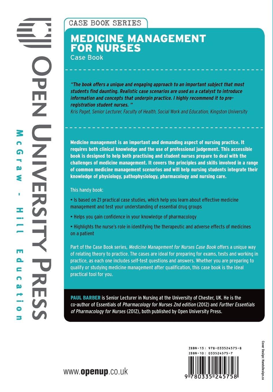 medication case studies nursing students