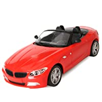 1/14 Scale Rechargeable Radio Remote Controlled Car Electric RC Vehicle Sports Car Drifting Race Model Car(Red BMW)